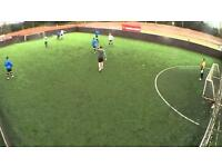 Sunday night 5 a side football