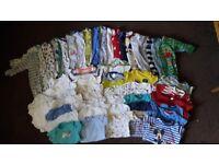 boys 3-6 months clothes bundle