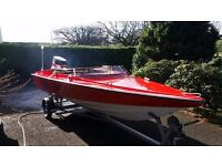 Driver 440 speed boat