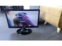 """Samsung T19C300EW 19"""" HD Ready LED TV With Built In Freeview & HDMI and remote control and PC input"""