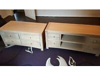 Tv cabinet and coffee table