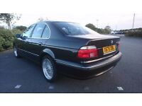 bmw e39 car with full service history LOW MILEAGE