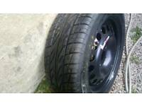 185 55 15 tyre steel wheel corsa