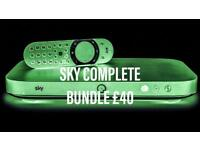 DISCOUNTED Sky bundle DEALS released expert SKYQ INSTALLATION - UK WIDE SKY TV - UPDATE