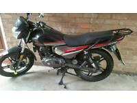 Keeway Strike 125cc Motorbike