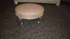 Minature foot stool