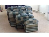 set of suitcases