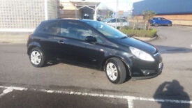 2008(58)VAUXHALL CORSA 1.2 ACTIVE BLACK,LOW MILES,LONG MOT,CLEAN CAR,GREAT VALUE