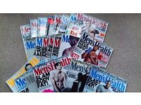 Mens Health Magazine 21 issues May 2015 onwards