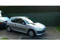2006 Peugeot 206 for sale Full year mot till October 2018
