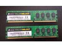 Corsair Value Select 2x2GB DDR2 667Mhz