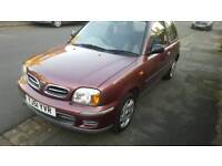 Nissan micra 1.0 immaculate condition
