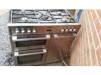 Belling cooker 6 hobs (gas)