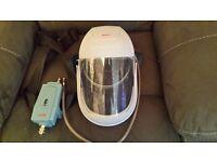 Willson air fed spray mask