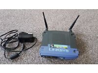 Linksys wireless - G broadband router