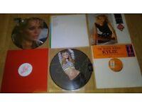 55 x kylie vinyl collection picture discs / promo / tour