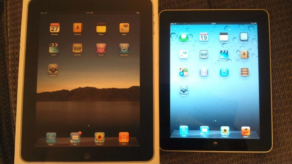 Apple ipad 1st generation 32gb, wifi 9.7in black
