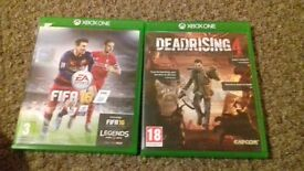 fifa 16 and dead rising 4