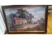 """ An old Surrey farm"" by Robert Gallon"