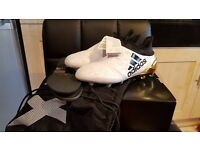 Adidas X16+ Purechaos FG J Limited Edition Football Boots Size 5.5