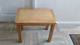 Solid wooden stylish side table