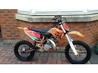 ktm sx 50 cc 2015 kids motocross bike low use just had full engine rebuild