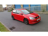 honda civic type r ep3 facelift 2005 reg in red very low mileage