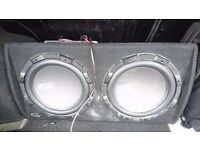 2000 watts fu subwoofer + sony xpload amp