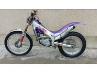 Trials motorbike, BETA 250CC ( similar to gas gas montesa sherco scorpa)