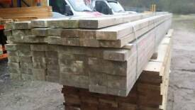 5x2 Tanalised C24 (120mm x 45mm) 4.8mtr Lengths