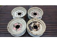 "Trailer wheel rims 145 x 10 4"" PCD"