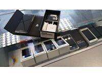 SAVE £140! (Receipt given) BRAND New UNLOCKED Samsung Galaxy S7 EDGE 32GB - Black