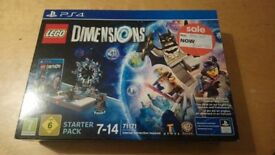 Lego Dimensions Starter Set PS4 Unopened