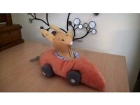 Light shade, soft toy mobiles and toy - ideal for nursery. All in great condition.
