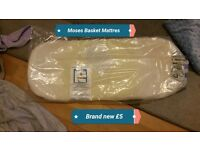 BRAND NEW Moses Basket Mattress Still in packaging £5