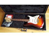Fender USA Stratocaster Plus Deluxe Mint Mystic Sunburst PX Poss American Strat Tele Vintage Reissue