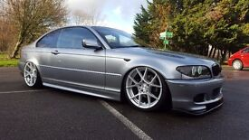 BMW E46 320CD Coupe AirLift Modified