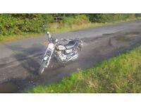 Huoniao hn125-8 (125cc),running and it has MOT