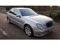 53 Plate Mercedes Benz E CLASS 2.2 Diesel Avantgarde 4 door Auto