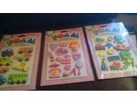 Foam stickers for card making scrapbooking or crafting