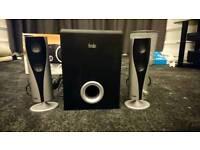 2.1 Speaker set with Subwoofer