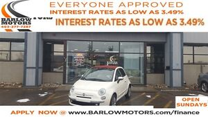 2014 Fiat 500C Lounge *EVERYONE APPROVED* APPLY NOW DRIVE NOW.