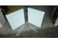 Central heating radiators x 2