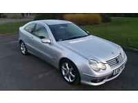 2006 Mercedes c160 coupe sports edition 1.8 compresser c class non runner