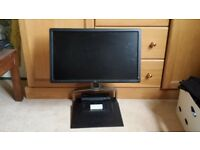 Dell docking station and screen for laptop