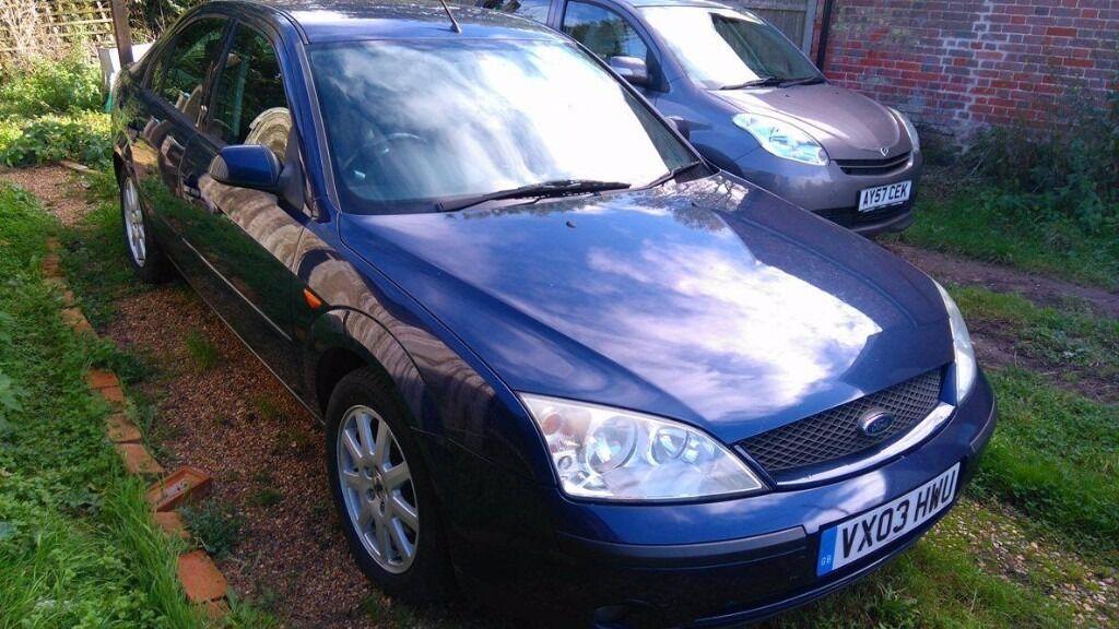 Ford Mondeo 2003 blue, hatchback, MOT until Sept 2017 £600 ONO