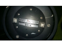 Electrovoice DH1A Compression driver, 3in voice coil on a 2in throat with flare