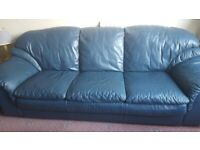 3 + 2 Seater Leather Couches