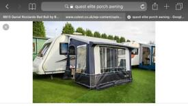 Quest Elite Blenheim 3/4 awning