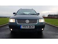 2001 Volkswagen Passat **Heated Leather** 130 bhp Tdi Sport Estate 1.9 Pd 6 Speed